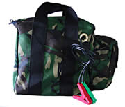 Camouflage Battery And Gemini Bag