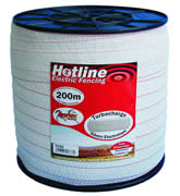 40mm White Tape 200m