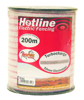 Hotline 10mm Tape 200m - TC41-2